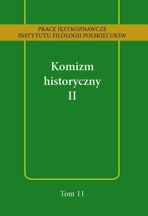 Komizm historyczny II - okładka książki