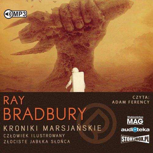 Kroniki Marsjańskie Człowiek ilustrowany - pudełko audiobooku