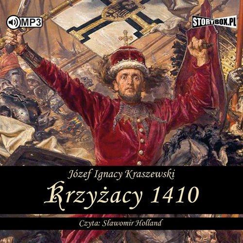 Krzyżacy 1410 - pudełko audiobooku