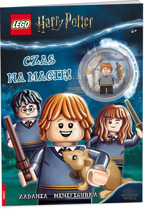 LEGO. Harry Potter. Czas na magię - okładka książki