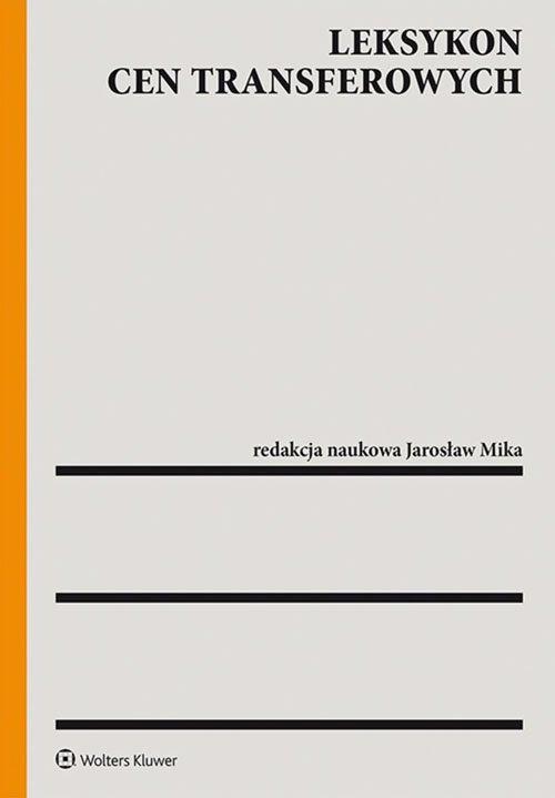 Leksykon cen transferowych - okładka książki
