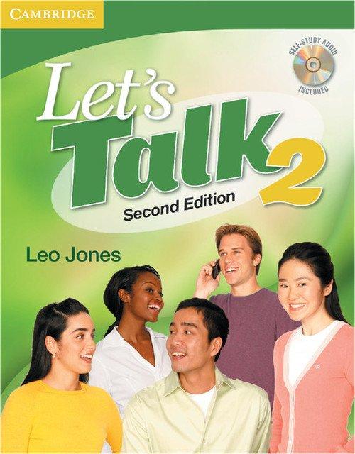 Lets Talk 2 Students Book with - okładka podręcznika