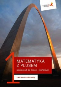 Matematyka. Liceum LO 1. Z Plusem. - okładka podręcznika