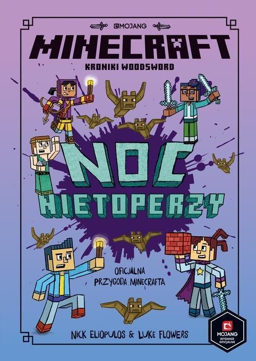 Minecraft. Noc nietoperzy - okładka książki