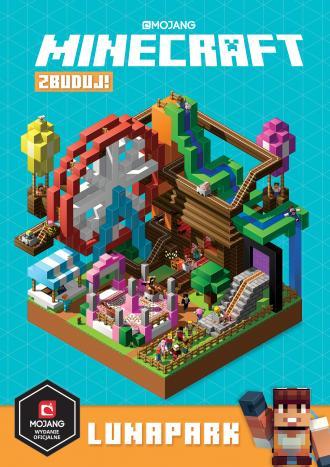 Minecraft Zbuduj! Lunapark - okładka książki