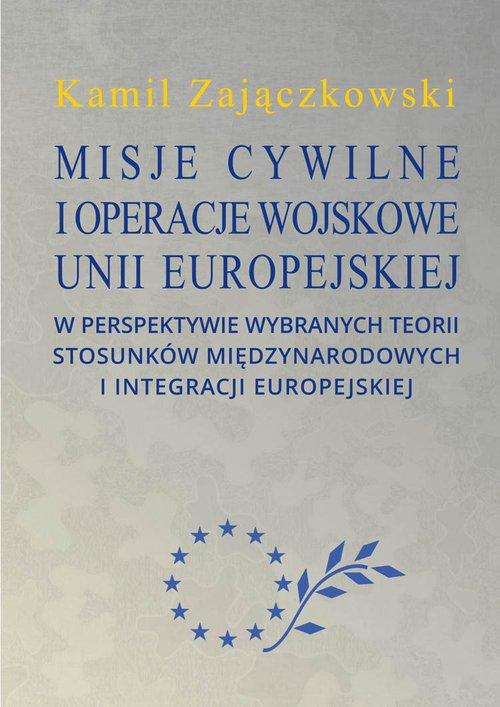Misje cywilne i operacje wojskowe - okładka książki
