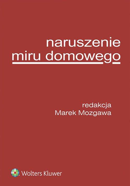Naruszenie miru domowego - okładka książki