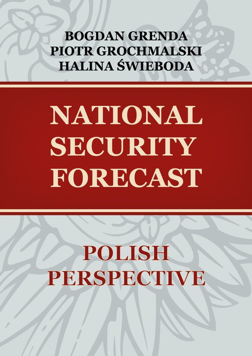 National security forecast Polish - okładka książki
