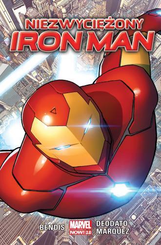 Niezwyciężony Iron Man - okładka książki