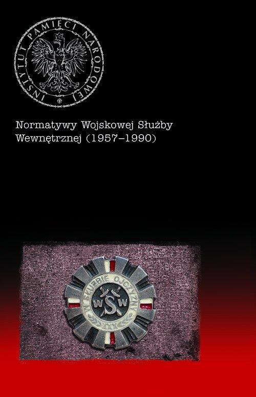 Normatywy Wojskowej Służby Wewnętrznej - okładka książki