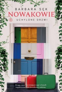 Nowakowie 2. Uchylone drzwi - okładka książki