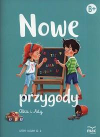 Nowe przygody Olka i Ady. Litery - okładka podręcznika
