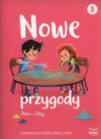 Nowe przygody Olka i Ady. Przygotowanie - okładka podręcznika
