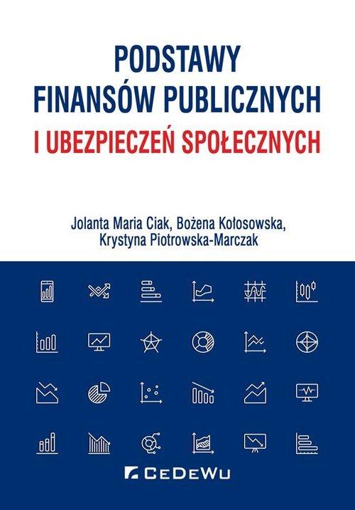 Podstawy finansów publicznych i - okładka książki