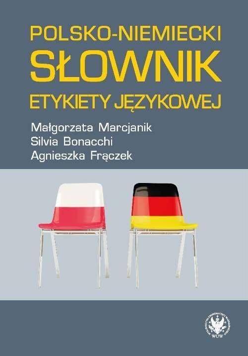 Polsko-niemiecki słownik etykiety - okładka książki