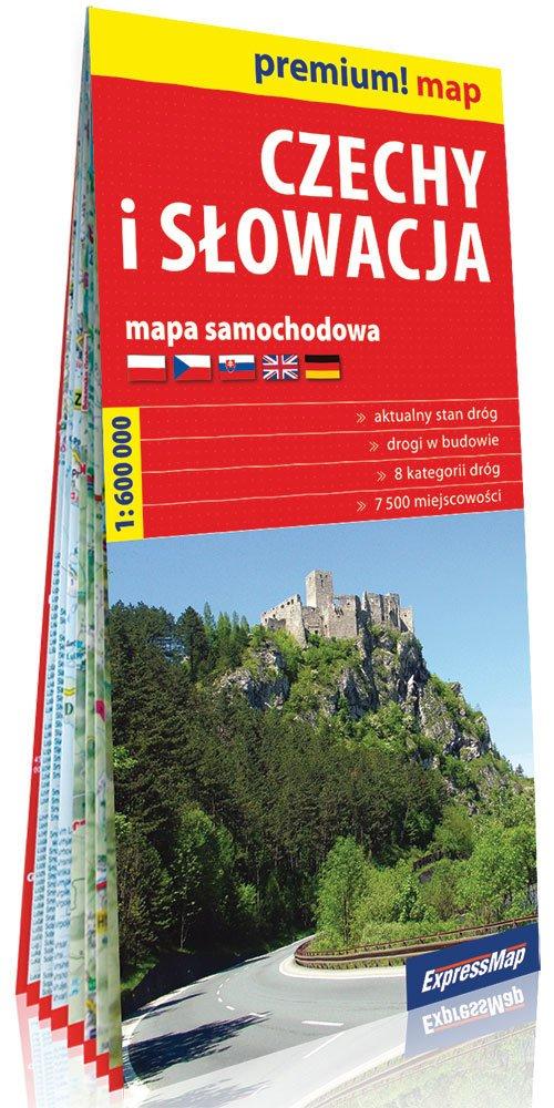 Premium!map Czechy i Słowacja 1:600 - okładka książki