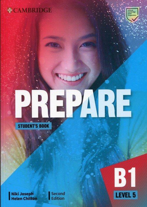 Prepare 5 B1 Students Book - okładka podręcznika