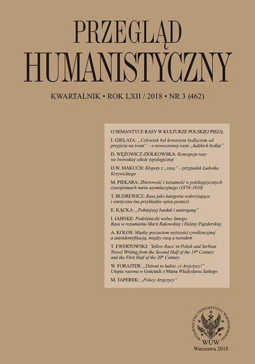 Przegląd Humanistyczny 2018/3 (462) - okładka książki