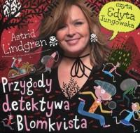 Przygody detektywa Blomkvista - pudełko audiobooku
