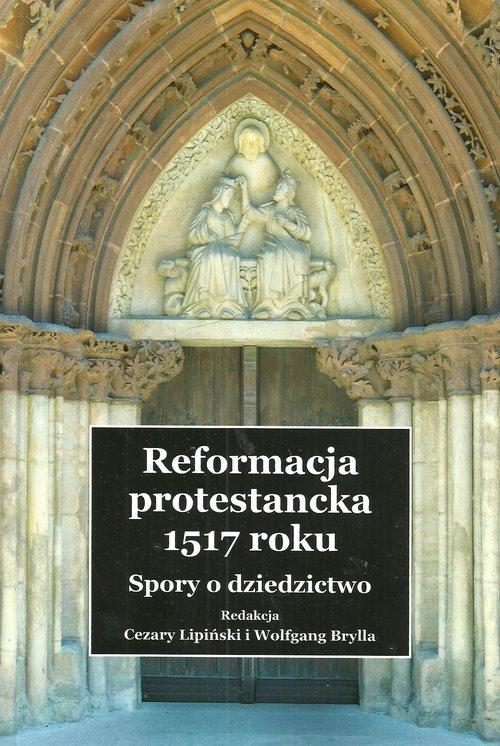 Reformacja protestancka 1517 roku. - okładka książki