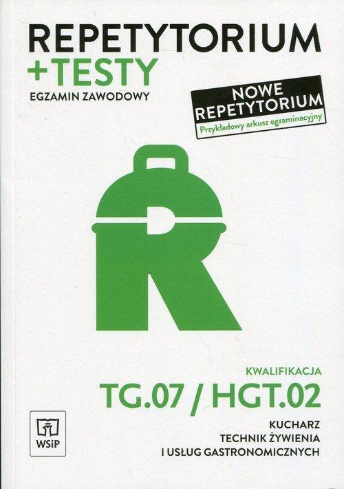 Repetytorium i testy egzaminacyjne. - okładka podręcznika