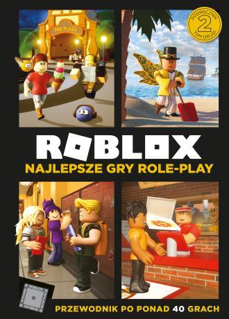 Roblox Najlepsze gry role-play. - okładka książki
