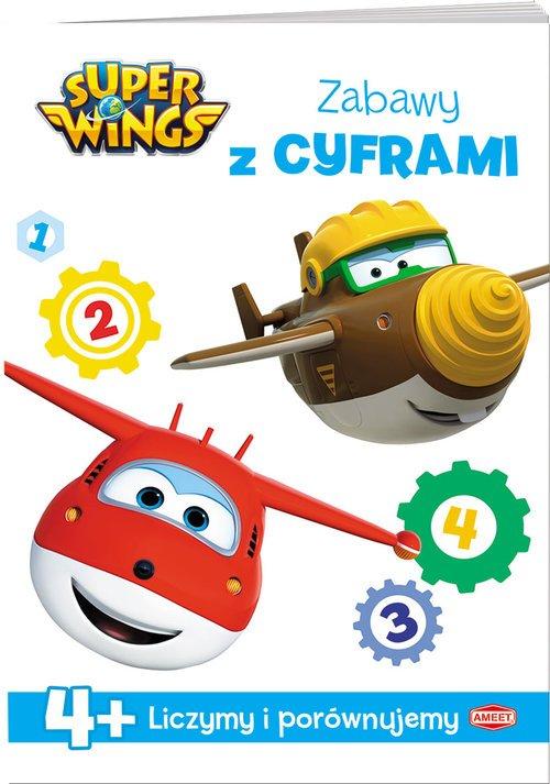 Super Wings Zabawy z cyframi - okładka książki