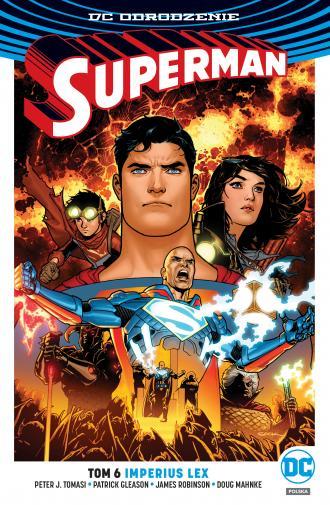 Superman. Tom 6. Imperius Lex - okładka książki
