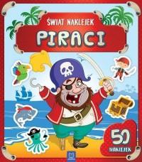 Świat naklejek. Piraci - okładka książki