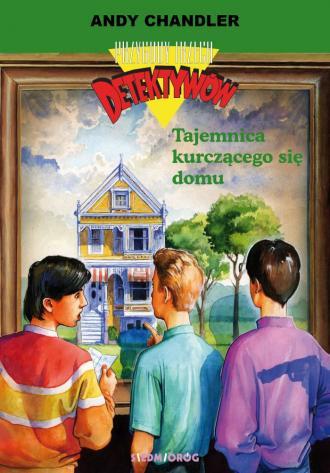 Tajemnica kurczącego się domu. - okładka książki
