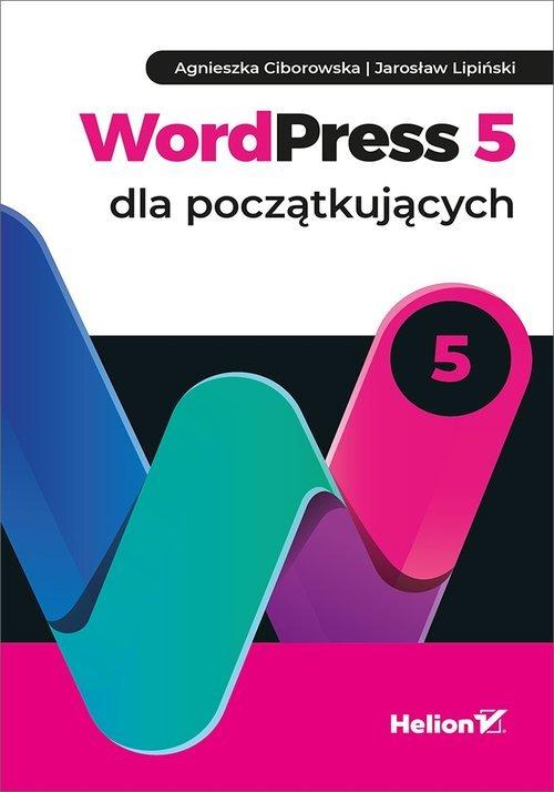 WordPress 5 dla początkujących - okładka książki