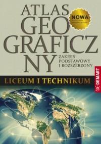 Atlas geograficzny do liceum ogólnokształcącego - okładka książki