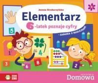 Domowa Akademia Elementarz 6-latek - okładka podręcznika