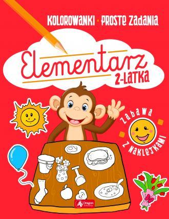Elementarz 2-latka - okładka książki