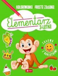 Elementarz 3-latka - okładka książki