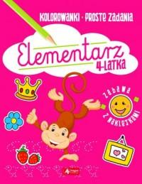 Elementarz 4-latka - okładka książki