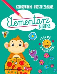 Elementarz 5-latka - okładka książki