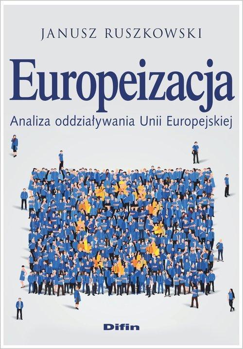 Europeizacja. Analiza oddziaływania - okładka książki
