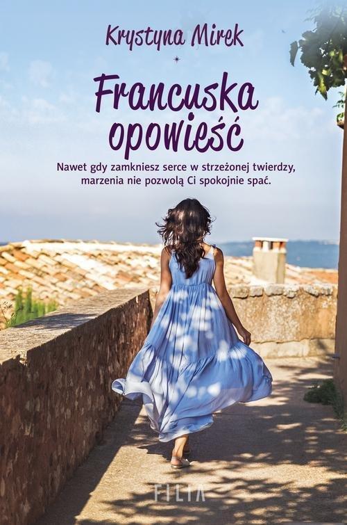 Francuska opowieść - okładka książki