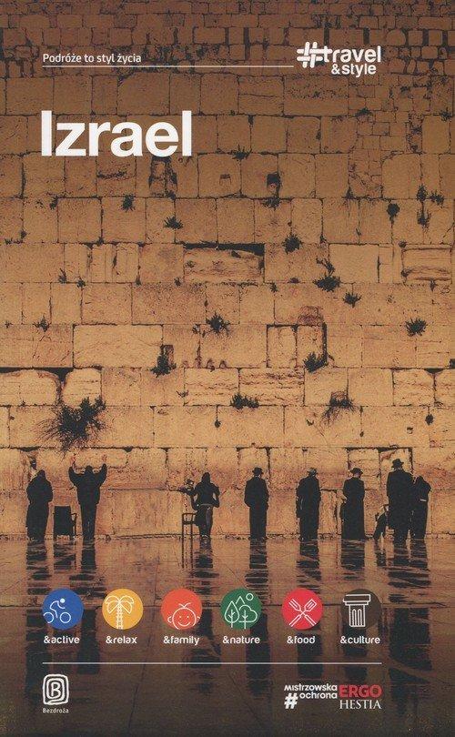 Izrael travel and style - okładka książki