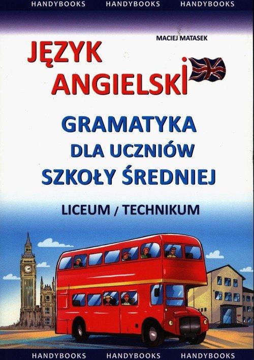 Język angielski. Gramatyka dla - okładka podręcznika