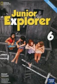 Junior Explorer 6. Szkoła podstawowa. - okładka podręcznika