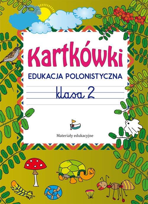Kartkówki Edukacja polonistyczna - okładka podręcznika