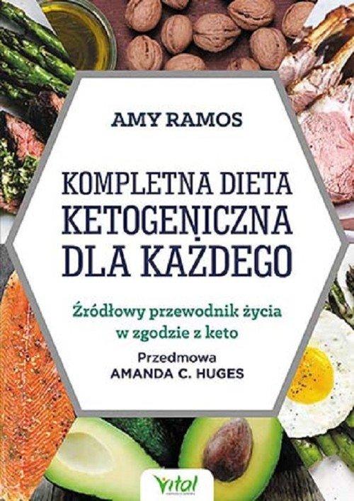 Kompletna dieta ketogeniczna dla każdego   Księgarnia internetowa Poczytaj.pl