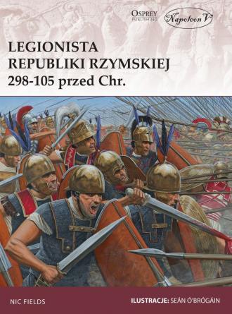 Legionista republiki Rzymskiej - okładka książki