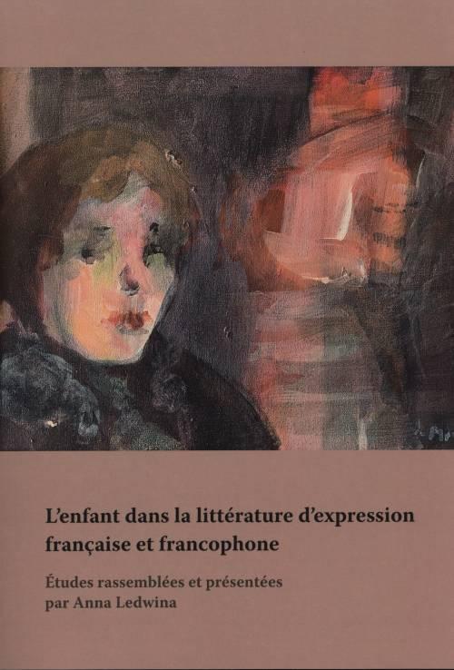 L'enfant dans la littérature d'expression - okładka książki