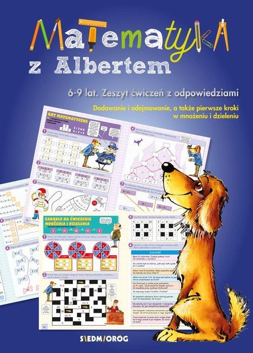 Matematyka z Albertem - okładka książki