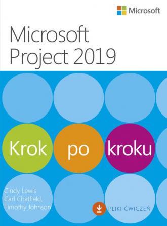 Microsoft Project 2019. Krok po - okładka książki