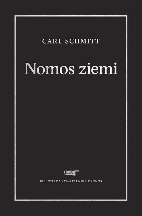 Nomos ziemi w prawie międzynarodowym - okładka książki