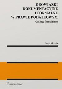 Obowiązki dokumentacyjne i formalne - okładka książki
